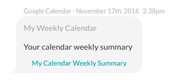 Group By Calendar Report