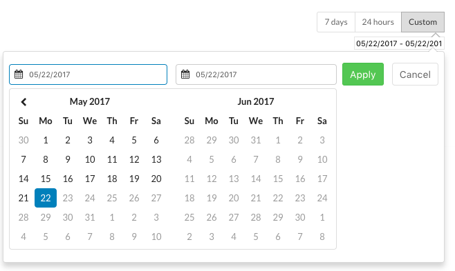 Custom Date/Time Picker
