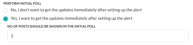 Initial Polling for a Task