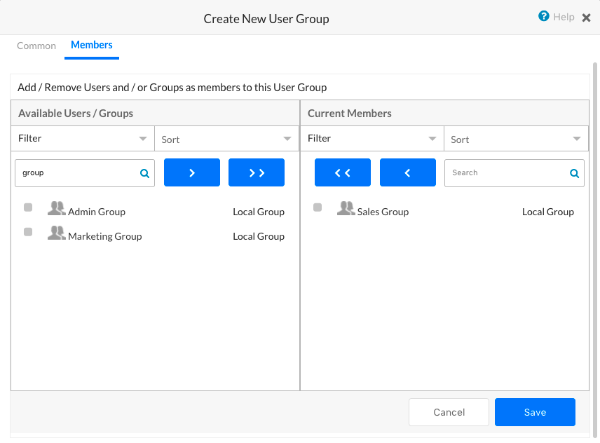 Adding Participants to a Group