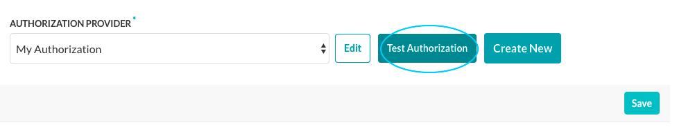 Test Authorization