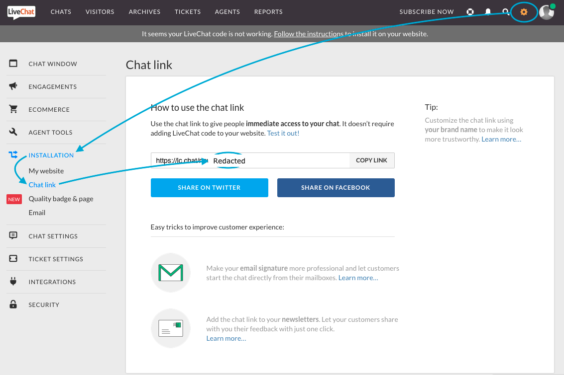 LiveChat License