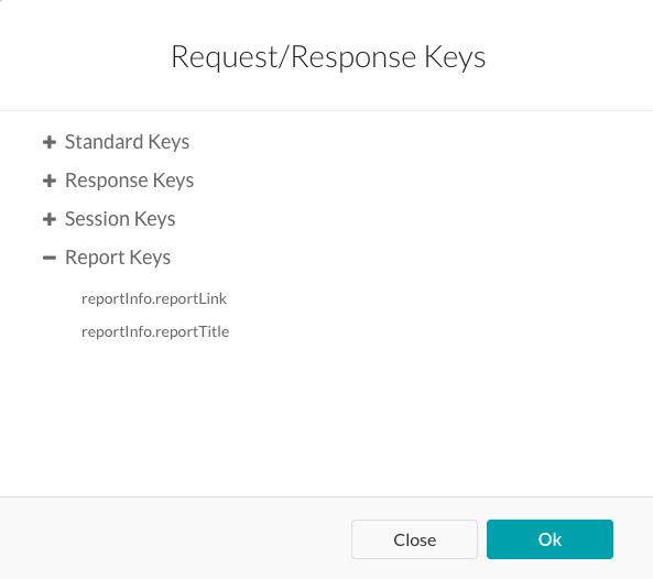 Report Keys