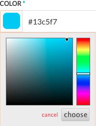 Color Picker for Bot Builder