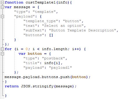 Bot Functions - Kore ai Documentation